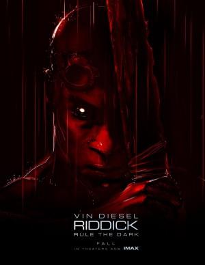 riddick rule the dark poster