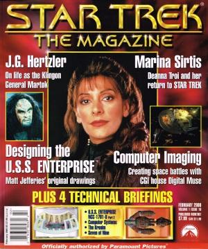 Star Trek the Magazine February 2000