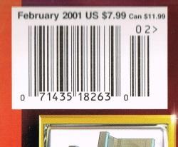 Star Trek The Magazine Feb 2001 A