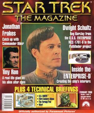 Star Trek The Magazine February 2001