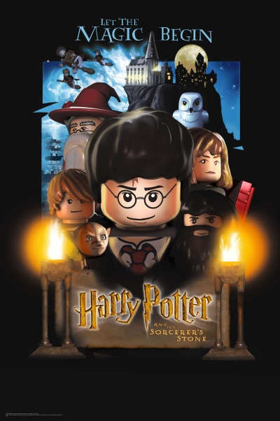 Lego Harry Potter Poster