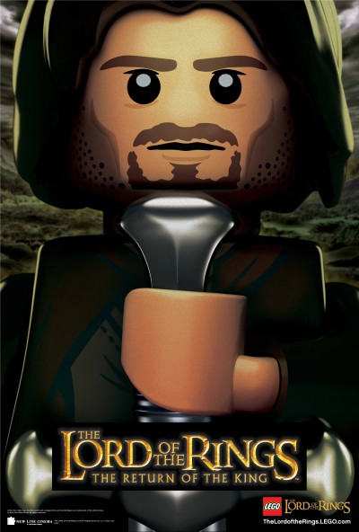 Lego Lord of the Rings Return of the King Poster