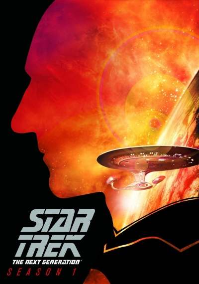 Star Trek TNG DVD Cover Season 1