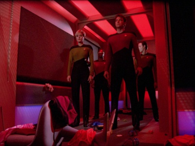 Star Trek TNG The Naked Now a