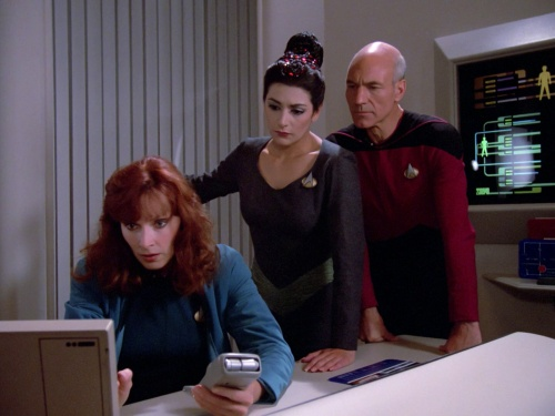 Star Trek TNG The Naked Now c