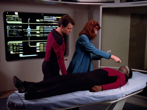 Star Trek TNG The Naked Now d