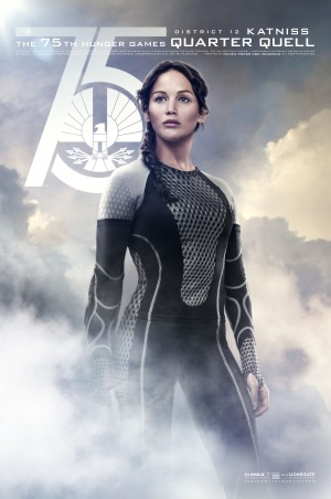 The Hunger Games Catching Fire Poster a