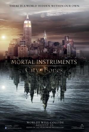 The Mortal Instruments City of Bones Poster 1