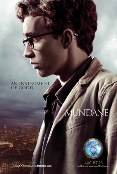 The Mortal Instruments City of Bones Poster 4