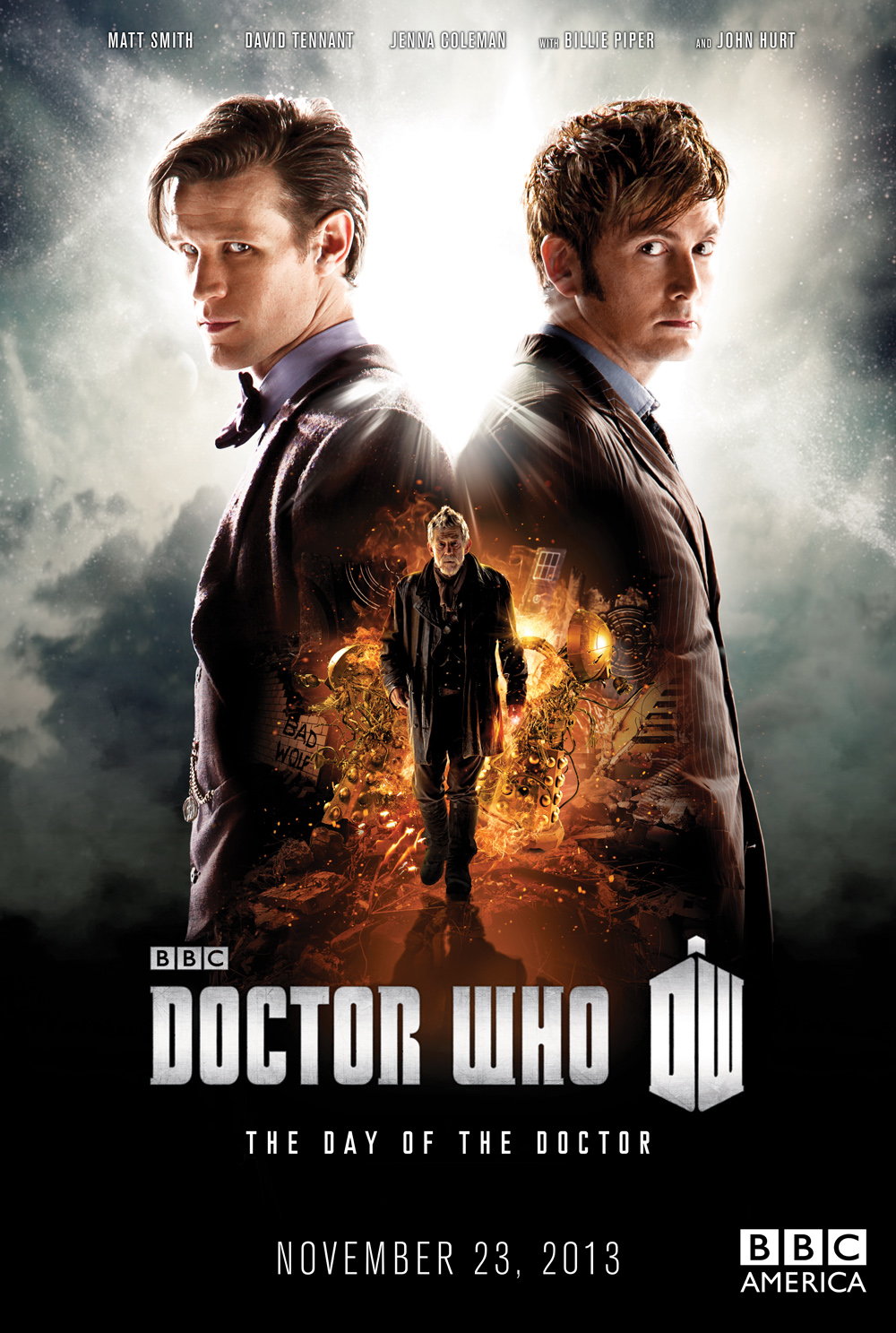 Doctor Who The Day of the Doctor Poster | Reggie's Take.com