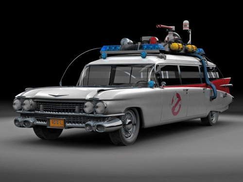 Ghost Busters Ecto 1