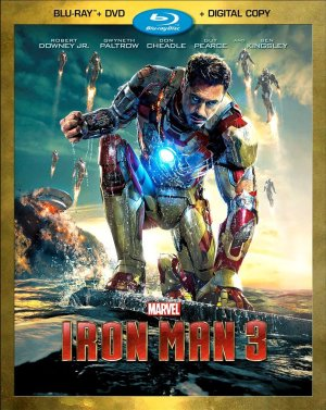 Iron Man 3 Bluray Cover