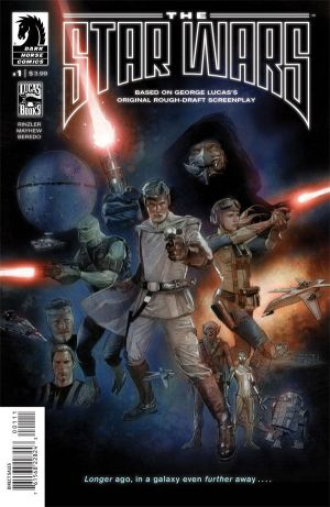 The Star Wars Comic Cover