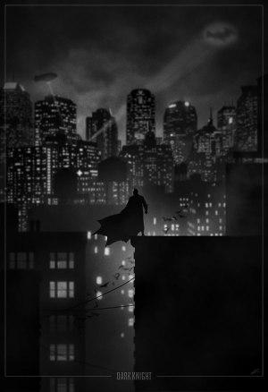 Superhero Noir Posters 1