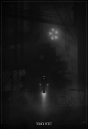 Superhero Noir Posters 2