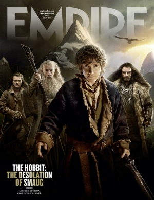 The Hobbit The Desolation of Smaug Empire Cover1
