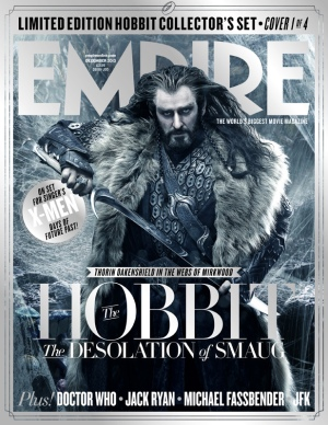 The Hobbit The Desolation of Smaug Empire Cover2