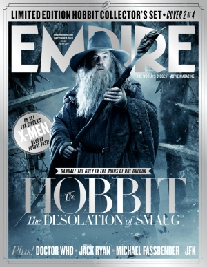 The Hobbit The Desolation of Smaug Empire Cover3