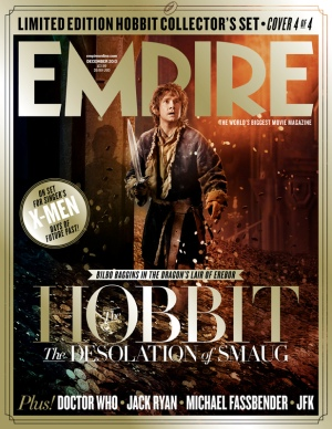 The Hobbit The Desolation of Smaug Empire Cover5