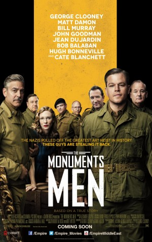 The Monuments Men Poster 2