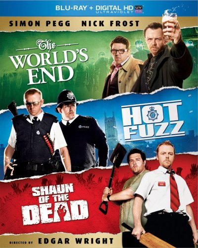 The World's End bluray Trilogy