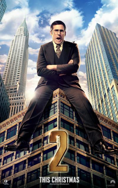 Anchorman 2 Legend Continues Poster 1