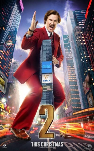 Anchorman 2 Legend Continues Poster 2