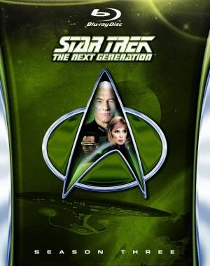 Star Trek TNG Season 3 blu-ray cover