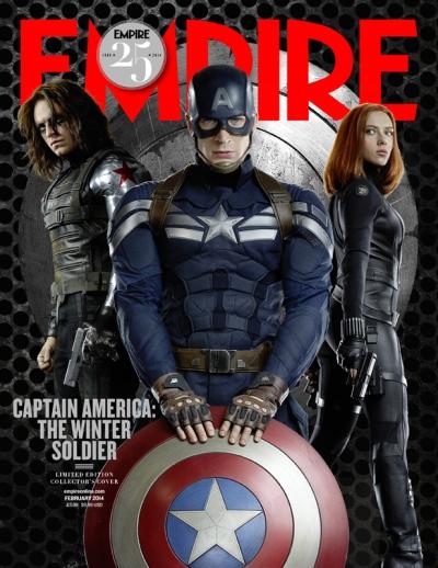 Captain America The Winter Solider Empire Cover 2