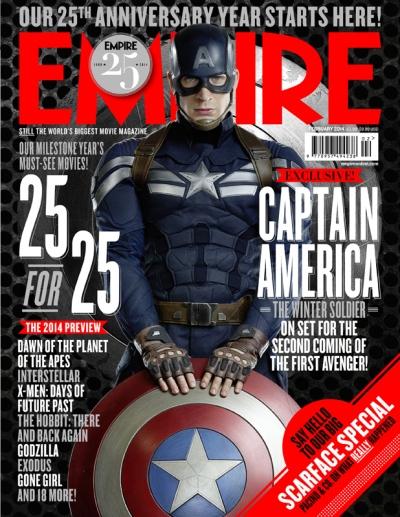 Captain America The Winter Solider Empire Cover