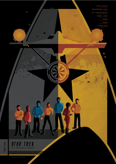 Star Trek TOS Poster Art 1