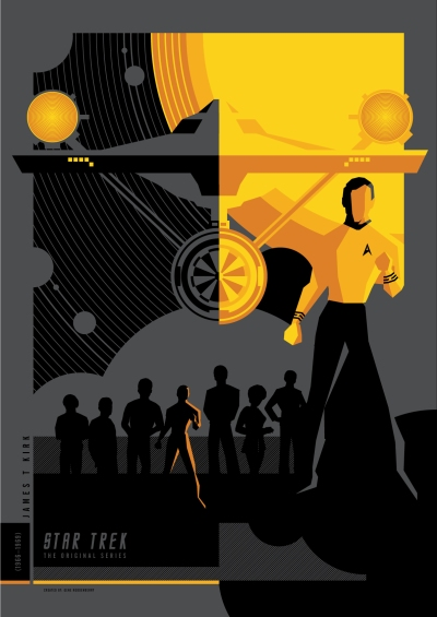 Star Trek TOS Poster Art 2