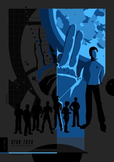 Star Trek TOS Poster Art 3
