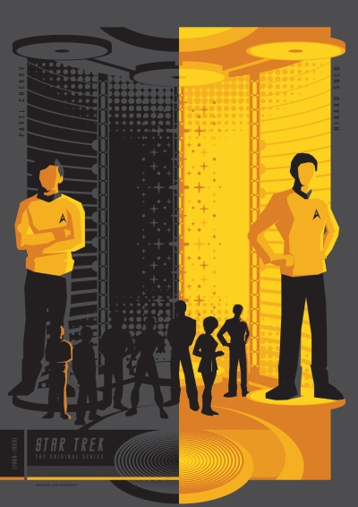 Star Trek TOS Poster Art 4
