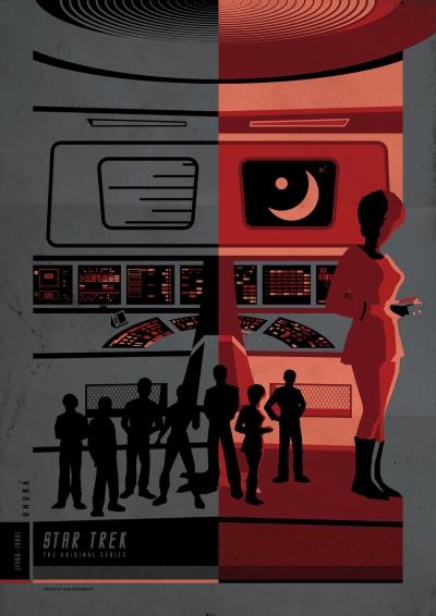 Star Trek TOS Poster Art 7