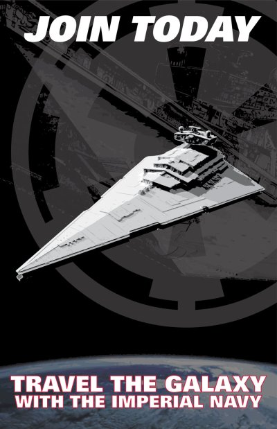 Star Wars Empire Recruitment Poster 10