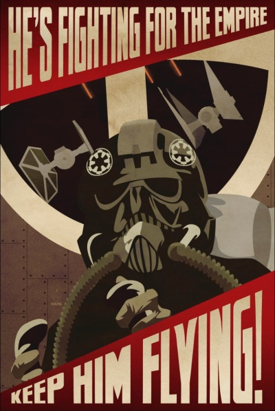 Star Wars Empire Recruitment Poster 11