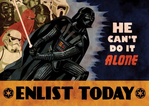 Star Wars Empire Recruitment Poster 15
