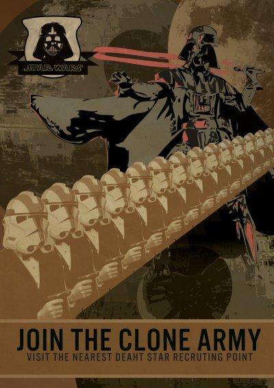 Star Wars Empire Recruitment Poster 16