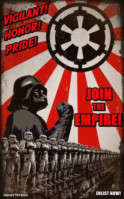 Star Wars Empire Recruitment Poster 2