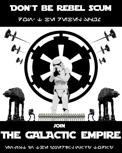 Star Wars Empire Recruitment Poster 3
