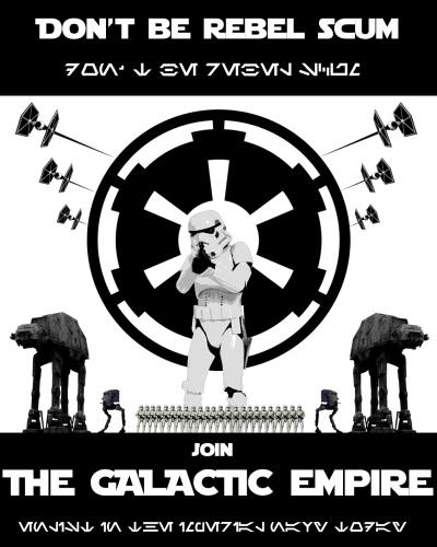 Star Wars Empire Recruitment Poster 3