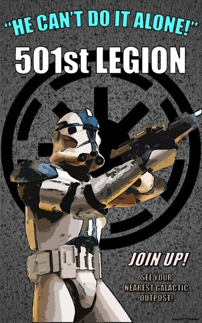 Star Wars Empire Recruitment Poster 5