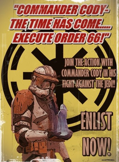 Star Wars Empire Recruitment Poster 6