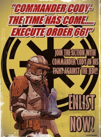 Star Wars Empire Recruitment Poster 6