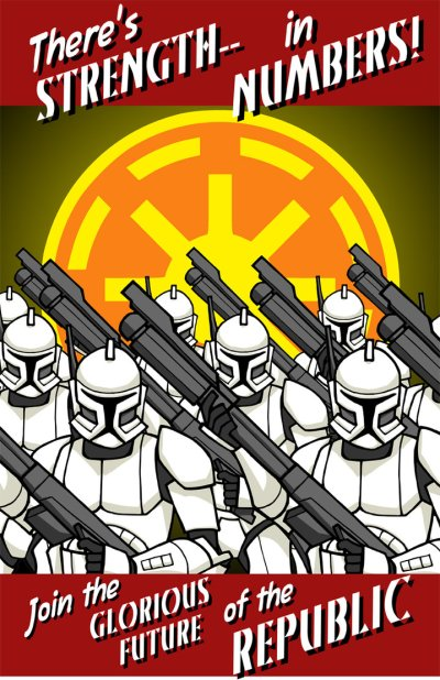 Star Wars Empire Recruitment Poster 7