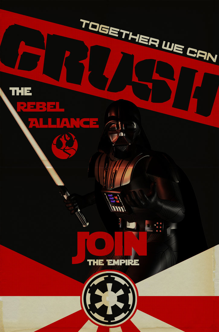 Star Wars Imperial Recruitment Poster
