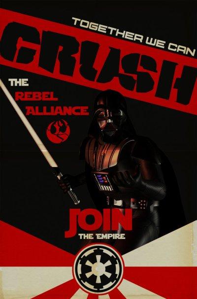 Star Wars Empire Recruitment Poster 9