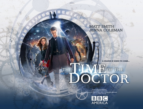 Time of the Doctor' Doctor Who Christmas Special b