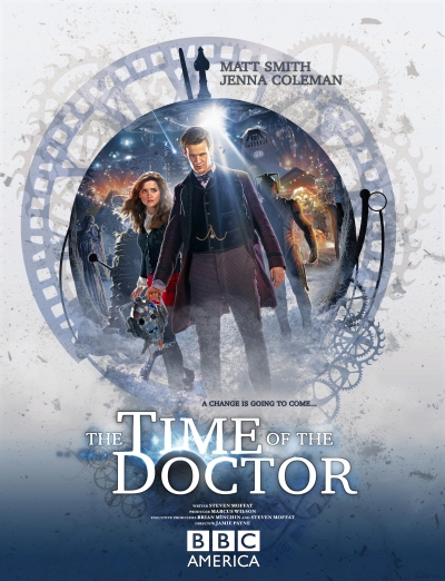 Time of the Doctor Doctor Who Christmas Special Poster